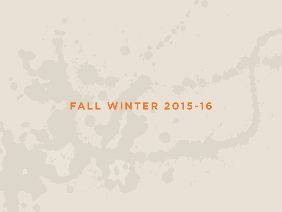 The new Men's Autumn/Winter 2015-2016 Collection